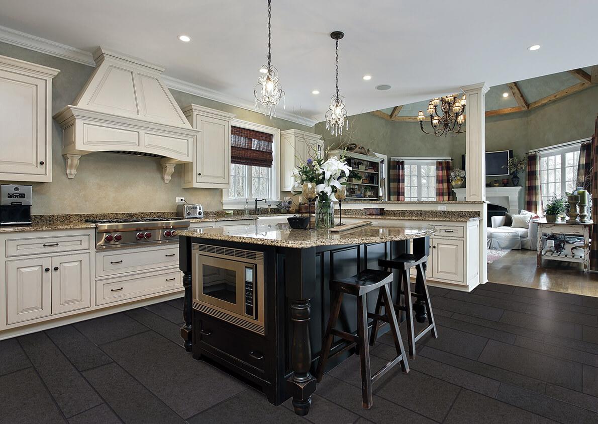 True Grout Kitchen Floor